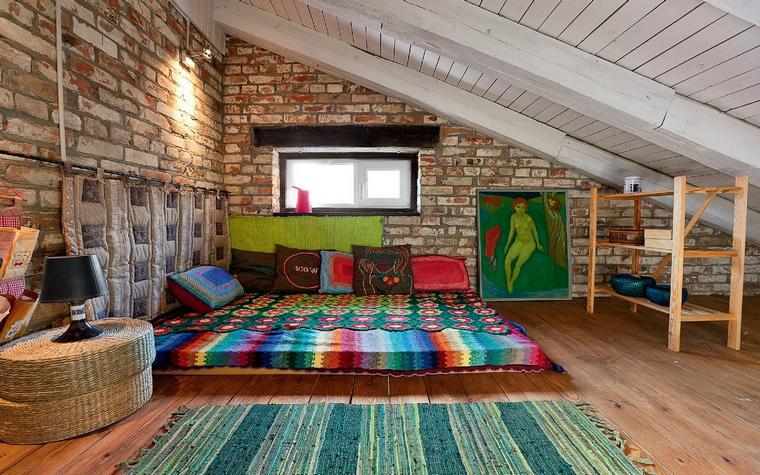 Интерьер комфортной спальни