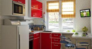 Способы визуального увеличения маленькой кухни