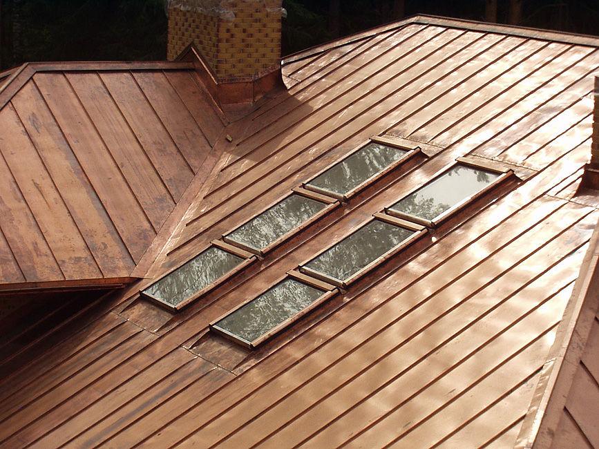 Материалы для кровли крыши. Листовое железо. Крыша из листового железа
