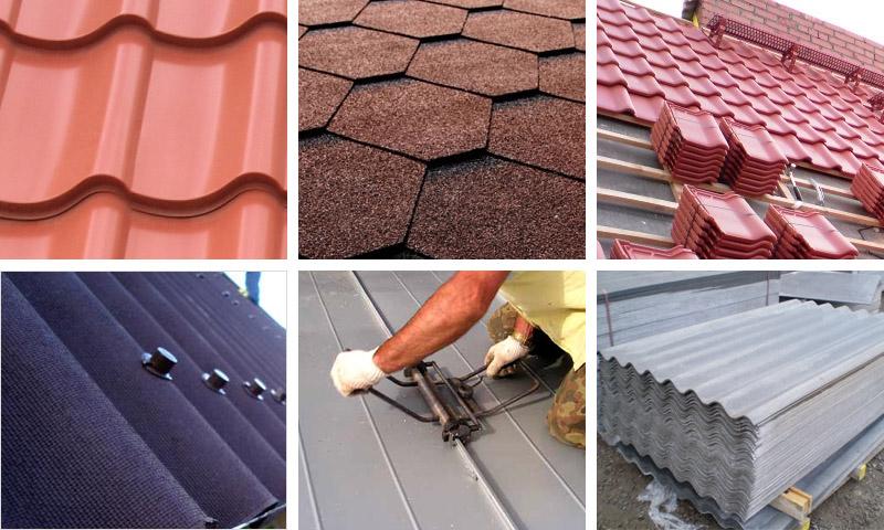 Советы по строительству дома. Материалы для крыши
