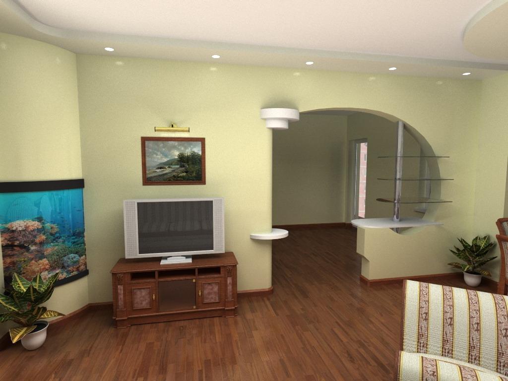 Изменение планировки помещения с помощью гипсокартона
