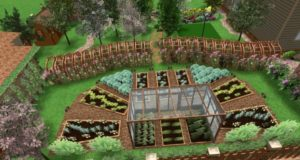 Как обустроить садовый участок своими руками