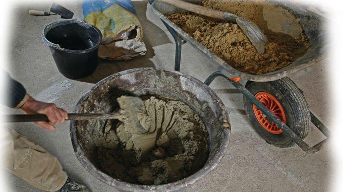 Необходимые инструменты для приготовления бетонной смеси