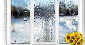 Почему запотевают в комнате пластиковые окна