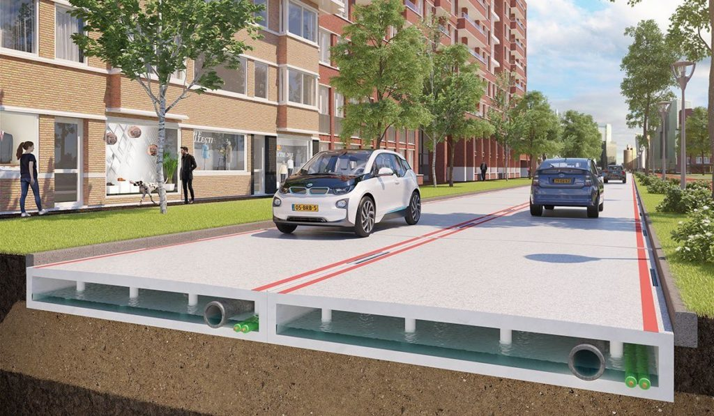 plastic roads Many countries are adding to the going green movement by building plastic roads instead of laying asphalt this solution is greener, stronger, and require less maintenance.