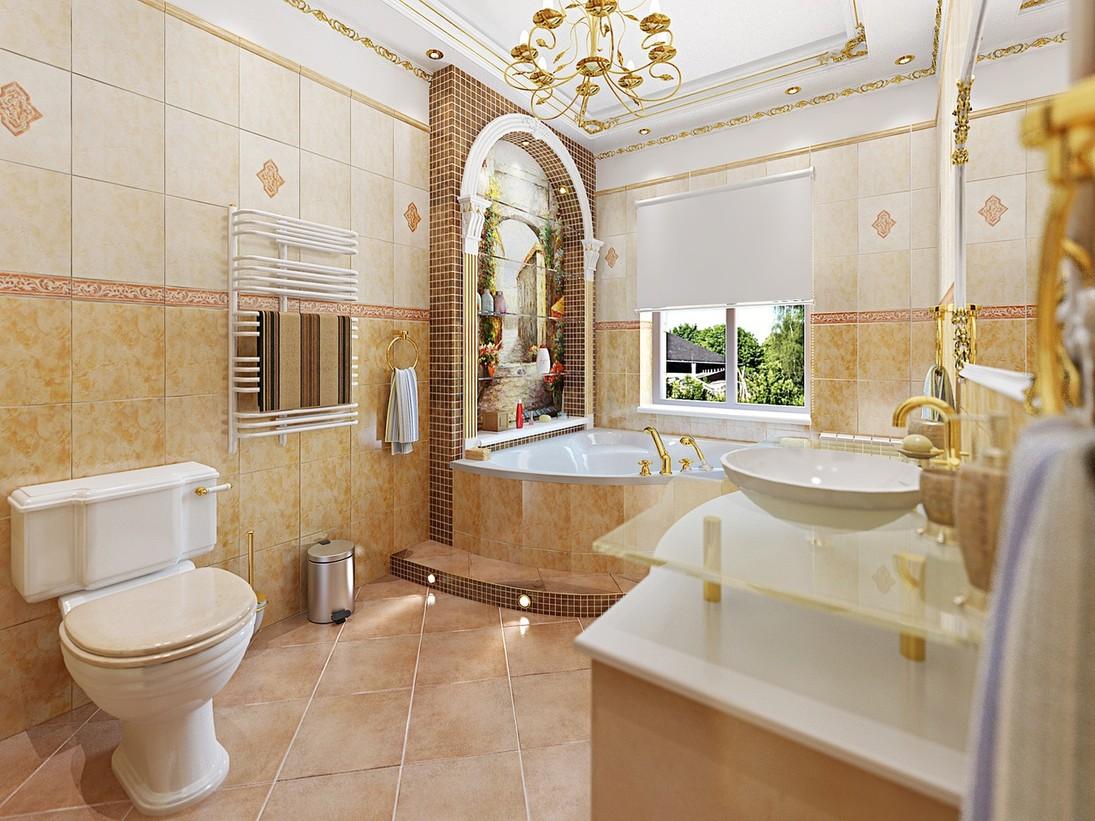 Роскошные ванные
