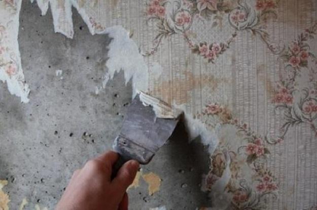 подготовка поверхности стен под обои
