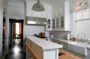 Красивая небольшая кухня