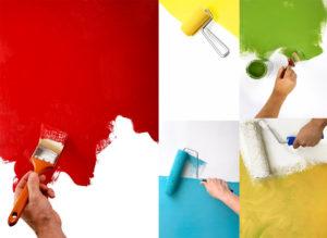 Правила покраски стен малярной кистью