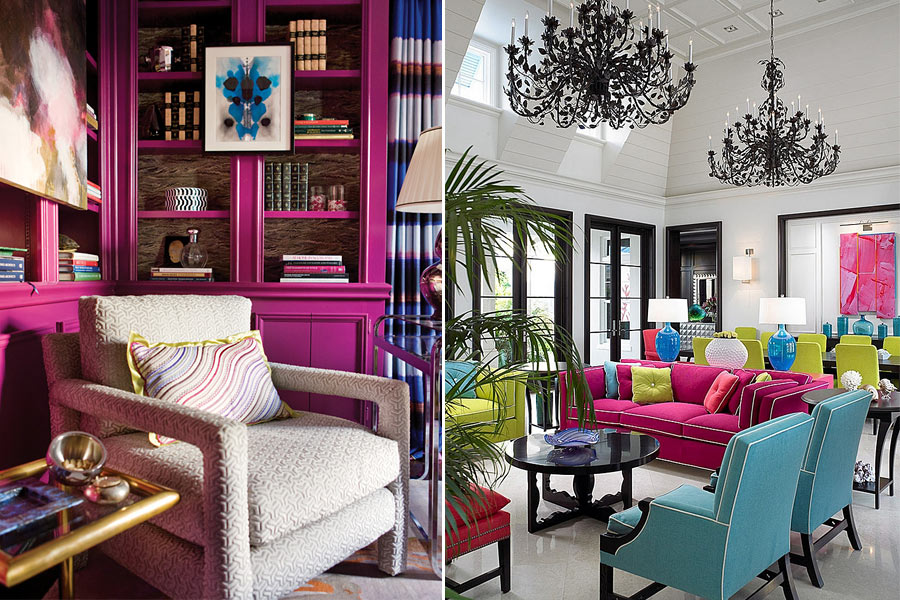 Таблица цветов в интерьере. Какой цвет выбрать для стен квартиры?