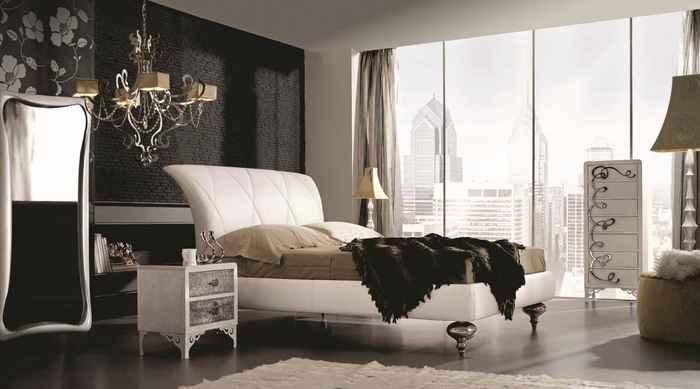 люстры для спальни в интерьере
