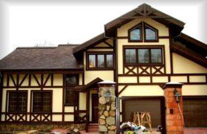 Достоинства домов в стиле фахверк