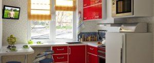 Маленькая кухня. Способы визуального увеличения маленькой кухни