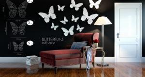 Методы декорирования стен краской
