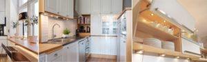 Варианты мебельного обустройства кухни. Готовый гарнитур