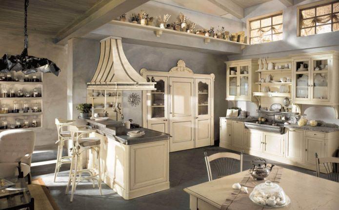 Варианты обустройства кухни
