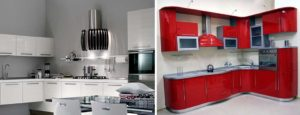 Выбираем вытяжку для кухни. Вытяжка на кухне красного цвета