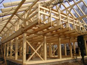 Дерево - материал для возведения стен дома