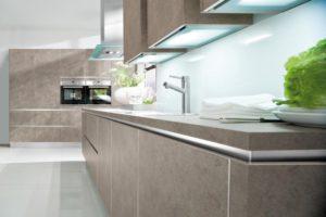 Дизайн кухни. Мода на кухонную мебель без ручек