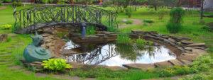 Как делать красивый пруд на даче