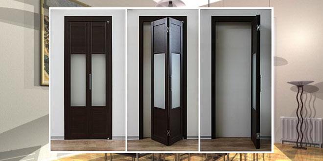 Межкомнатные двери-гармошка