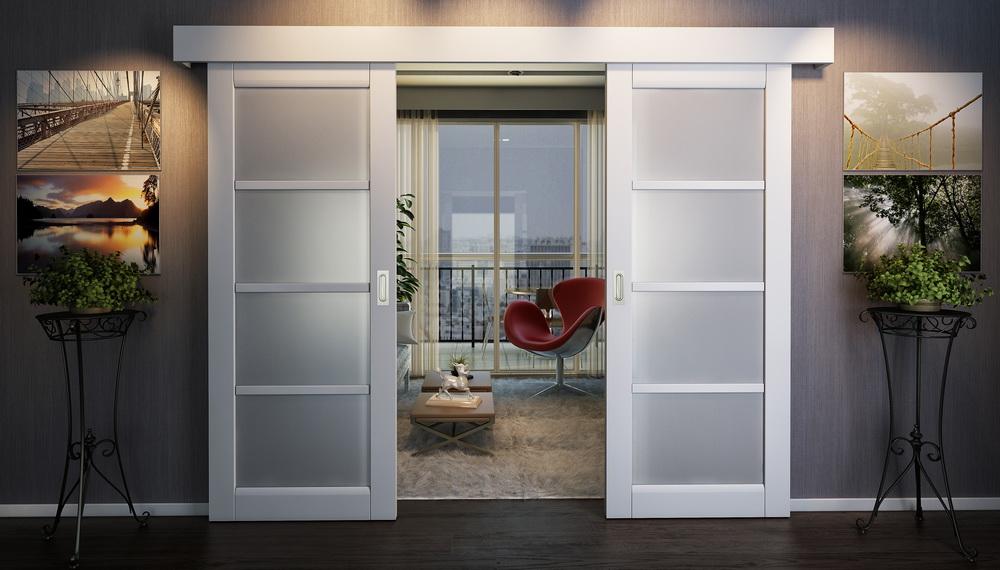 Двери купе или раздвижные двери