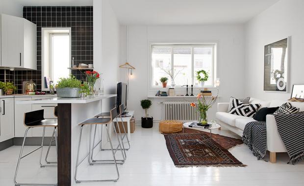 Основная задача при планировке однокомнатной квартиры