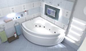 Особенности акриловых ванн. Акриловые ванны