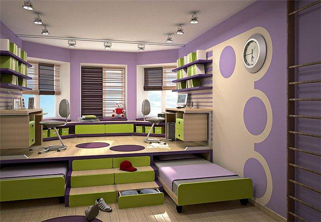 Способ выделения спальной зоны. Подиум в дизайне интерьера