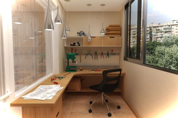 Увеличения полезной площади в квартире. Объединение балкона с комнатой
