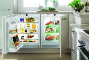 Встроенный под подоконником холодильник