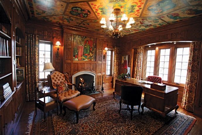 Элегантные помещения английского стиля