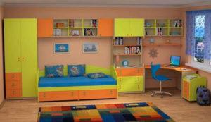 Правильная расстановка мебели в детской комнате