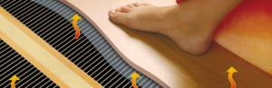 Принцип аккумуляции тепла напольным покрытием