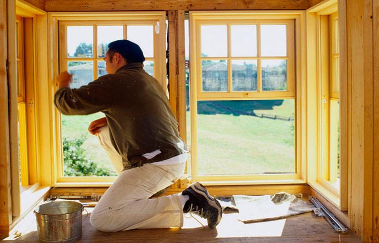 Как отремонтировать деревянные окна