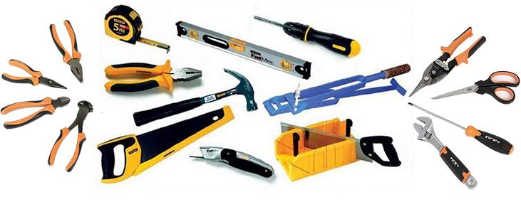 Необходимый строительный инструмент для ремонта окон