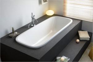 Ванная с подиумом