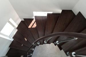 Модульная лестница на каркасе