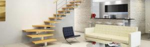 Модульная лестница в интерьере дома
