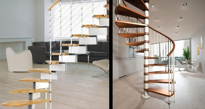 Модульные лестницы на каркасе