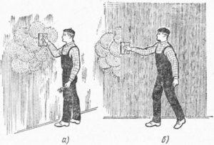 Затирка поверхности стен