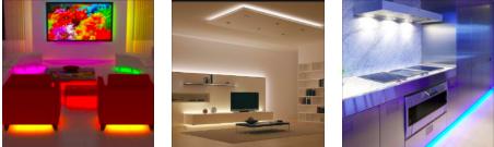 Светодиодная мебель для гостиной и кухни